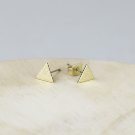 STUDS simple Triangle  Frosted