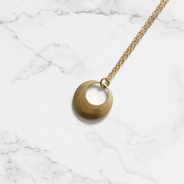 NECKLACE long solid Circle