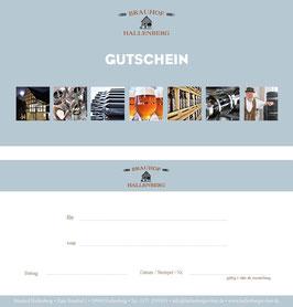 Der Brauhof-Gutschein // De Brauhof-cadeaubon
