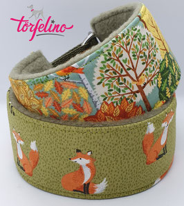 Fuchsband & Herbstwald