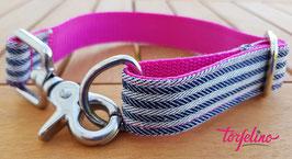 Espadrille Blau-Pink