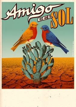 Amigo Del Sol Poster
