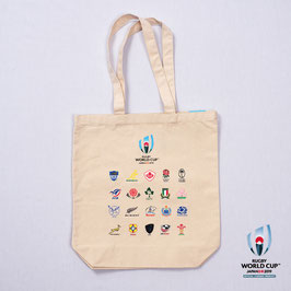 RWC2019™ 20 UNIONS COLLECTION トートバッグ WHT