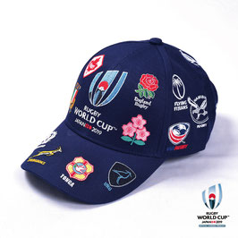 RWC2019™ 20 UNIONS COLLECTION キャップ NVY