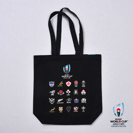 RWC2019™ 20 UNIONS COLLECTION トートバッグ BLK