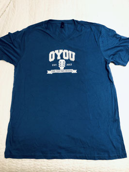 T-Shirt! Official OYOU Navy V-Neck Unisex