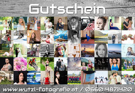 Gutschein Fotoshooting light