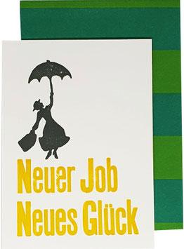 Neuer Job Neues Glück