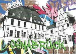 Postkarte - graffiti fL1009