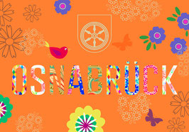 Postkarte - orange fL 0006