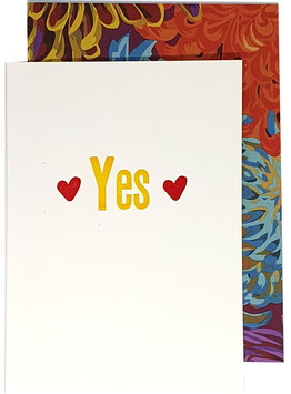 Yes mit Herzen