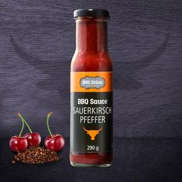 BBQ-Sauce Sauerkirsch Pfeffer 290ml Flasche