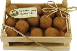 Marzipankartoffeln in der Holzkiste 200g