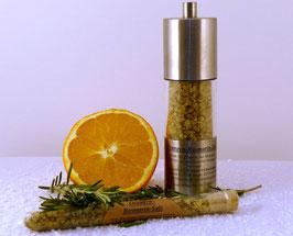 Orangen-Rosmarin-Salz 100g Glas