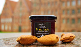 Marzilade Kirsch-Vanille-Rum 125 g Gl.