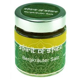 Bergkräuter Salz 95g Glas