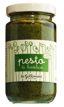 Pesto di basilico senza aglio 180g Glas