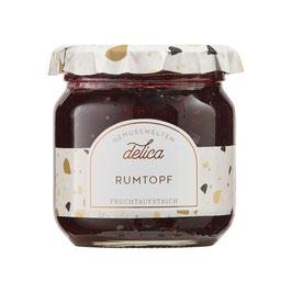 Rumtopf Fruchtaufstrich beerig & alkoholhaltig 215 g Gl.
