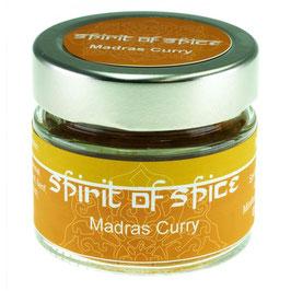 Madras Curry gemahlen 32g Glas