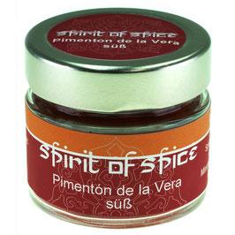 Pimenton de la Vera süß, gemahlen 32g Glas
