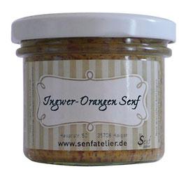 Ingwer-Orangen Senf 105ml Glas