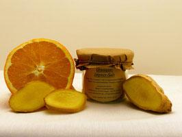 Orangen-Ingwer-Salz 100g Glas