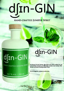 Dsin- Gin  44,7%vol 500ml