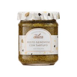 Pesto Genovese con Tartufo 175ml Glas