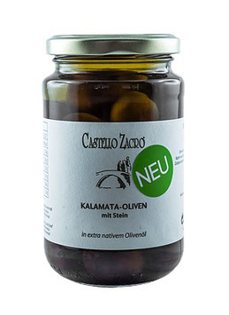 Kalamata Oilven mit Stein 350g Glas