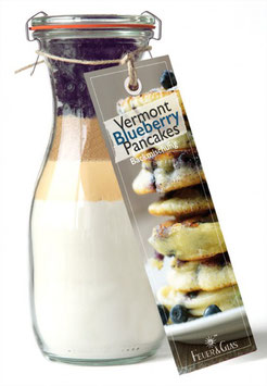 Vermont Blueberry Pancakes 370g Glas