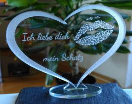 Liebe Geschenk Valentinstag - Geschenk für Geburtstag - Liebeserklärung