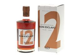 Ron Esclavo 12 Jahre, Dominikanische Republik, 0,7 ltr. 40% Alk.