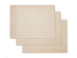 Latex Oefenhuid met print 3-Pack van Beautiful Brows & Lashes