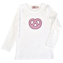 Mädchen Langarm-Shirt Breze rosa Vichy