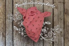 Jungs Trachten-Tuch Rot