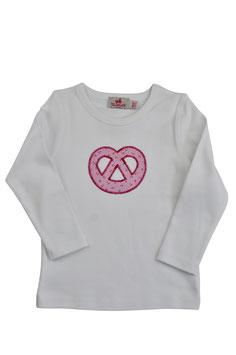 Mädchen Langarm-Shirt Breze rosa Streublümchen