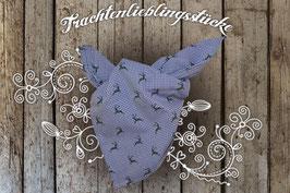 Jungs Trachten-Tuch Blau