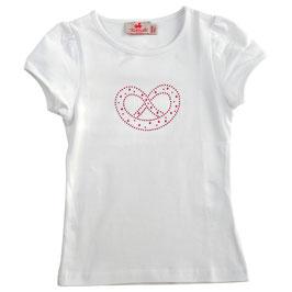 Mädchen Kurzarm-Shirt Breze pink Aluplättchen