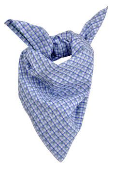 Jungs Trachten-Tuch rot-blau Vichy