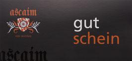 ascaim Gutschein