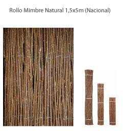 Mimbre Natural 1,5x5m -Nacional