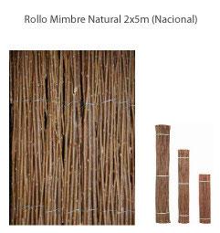 Mimbre Natural 2x5m - Nacional