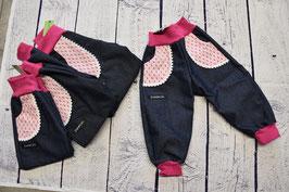 Jeans mit Taschen, verschiedene Grössen 68-116