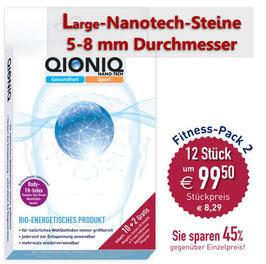 "NEU: Q-NIK-L-12 - ""LARGE"" - QIONIQ-Negativ-Ionen-Kristalle 10 Stück + 2 GRATIS!"
