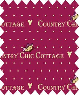 Schriftzug Country Chic Cottage