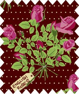 """Rose """"Lizzy Garden"""" Col.767 braun"""