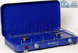 Campingkocher Rumba 2000ZP / 30 mbar / Blau