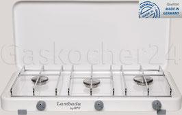 Campingkocher Lambada 3000Z / 50 mbar / Weiß