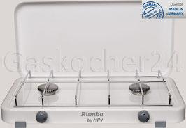 Campingkocher Rumba 2000Z / 50 mbar / Weiß