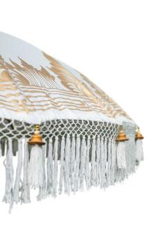 Luxe Boho Bali Parasol  ❤XAXA  Half bewerkt